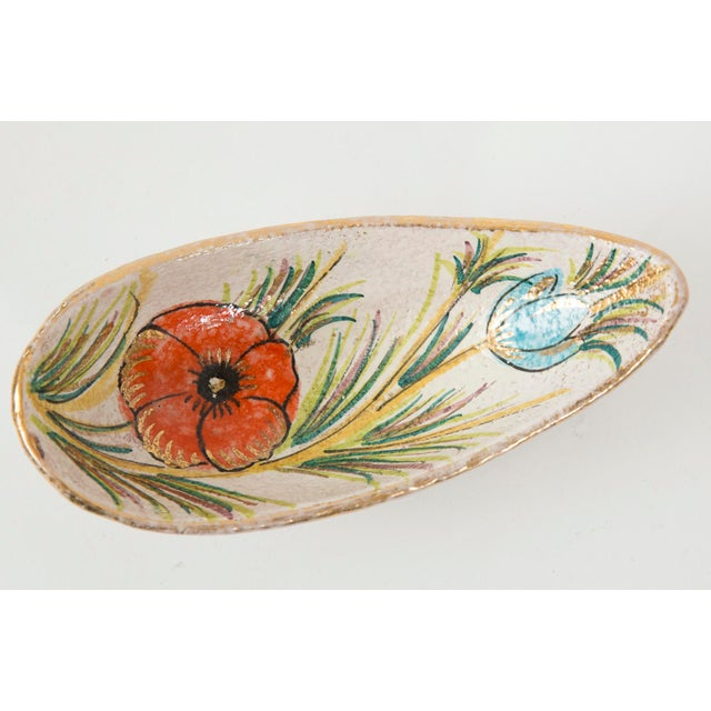 Fanciullacci / Londi Gilded Floral Bowl - Image 2 of 7