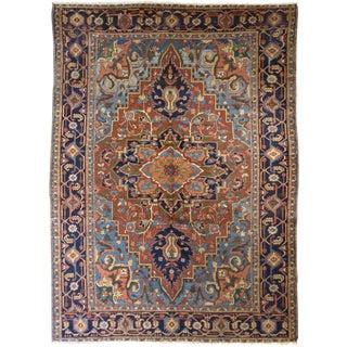 "Persian Heriz Rug 8' x 10'9"""