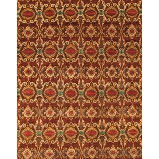 Pasargad Ikat Wool Rug - 7′9″ × 9′11″