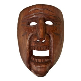 Primitive & Rustic Wooden Mask