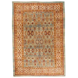 Exceptional 19th Century Antique Agra Carpet