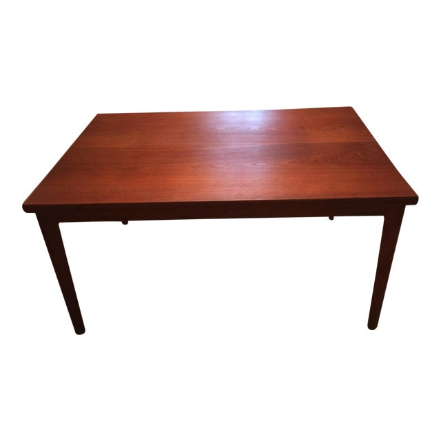 Image of Extendable Teak Dining Table