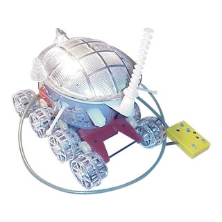 1969 Vintage Toy Robot Moon Rover Lunochod