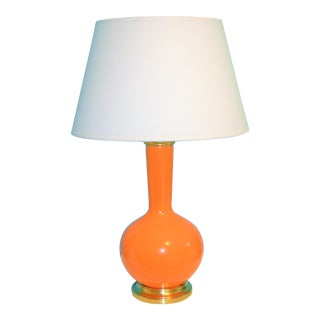 Robert Abbey Pumpkin Orange Devon Table Lamp