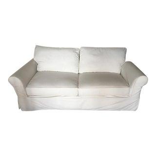 Pottery Barn Comfort Slip Covered Sofa