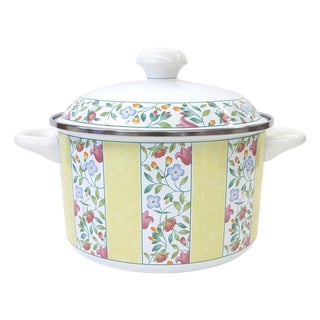Vintage Villeroy & Boch Enamel Dutch Oven