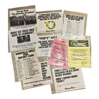 Guerrilla Girls Collection of Original Screen Print Posters- Set of 10