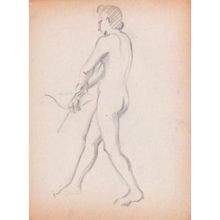 1940 Female Nude