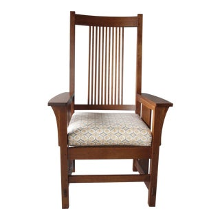 Stickley Spindle Mission Armchair