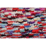 "Image of Hand Loomed Moroccan Wool Rug - 6'7"" x 3'1"""