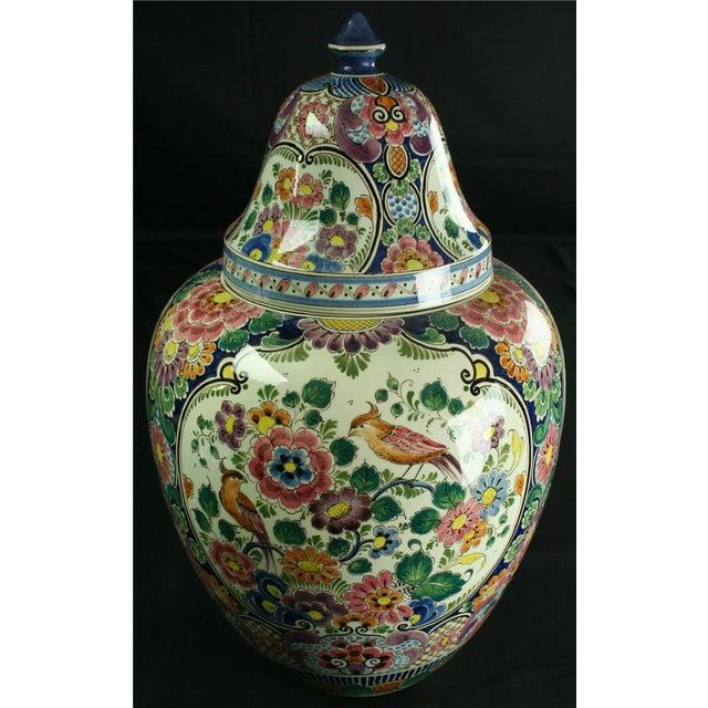 Large 1940s Vintage Majolica Ginger Jar - Image 5 of 8