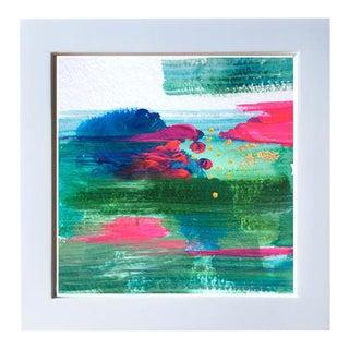 """""""Stolen Dance Iv"""" Framed Acrylic Painting"""