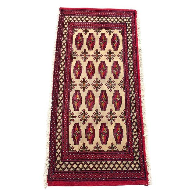 "Turkaman Persian Handmade Rug - 1'8"" x 3'5"" - Image 1 of 9"
