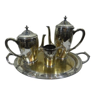 1900s Art Nouveau WMF Coffee/Tea Set