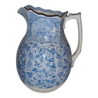 J.F. Wileman Cashmere Staffordshire Foley Ceramic Jug
