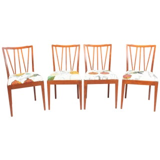 Scandinavian Teak Dining Chairs - Set of 4