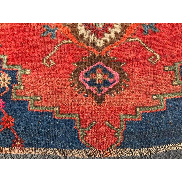 """Antique Turkish Oushak Square Rug - 5'6"""" x 5'7"""" - Image 4 of 11"""