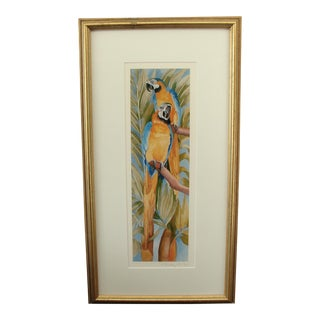Colorful 2 Parrots Print by Peter C. Bailey 1/200