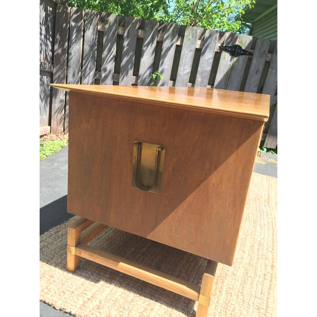 Vintage Mid-Century Chinoiserie Buffet - Image 4 of 6
