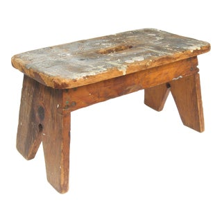 Artist's Wood Studio Stool