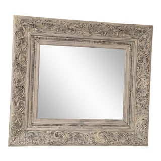 Shabby Chic Hand Carved Mirror
