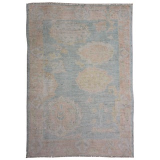 "Aara Rugs Inc. Hand Knotted Oushak Rug - 5'2"" X 3'6"""