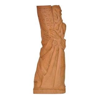 Circa 1953 Bernard Zakheim Moses Terra Cotta Sculpture