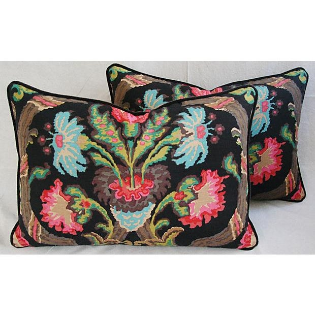 Designer Ralph Lauren Cadiz Mohair Pillows - Pair - Image 2 of 8