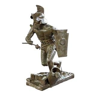"""Conquistador at the Well"" Sculpture"