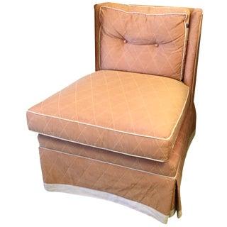 Vanguard Orange Slipper Chair