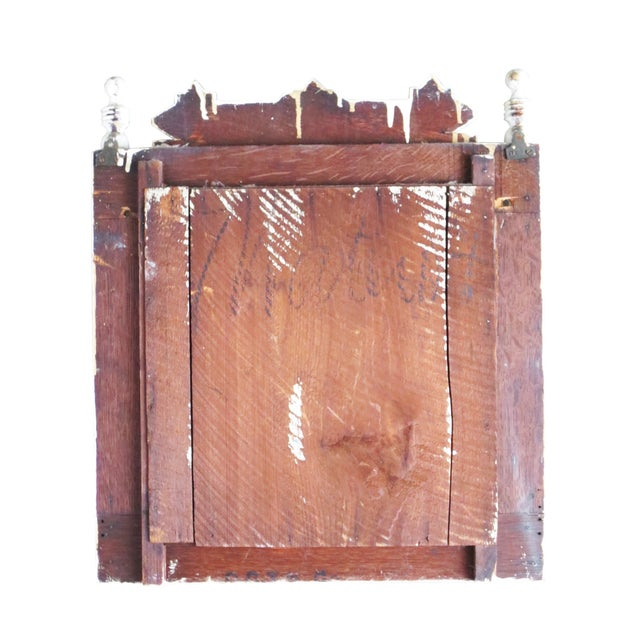 Image of Victorian Mirror With Shelf