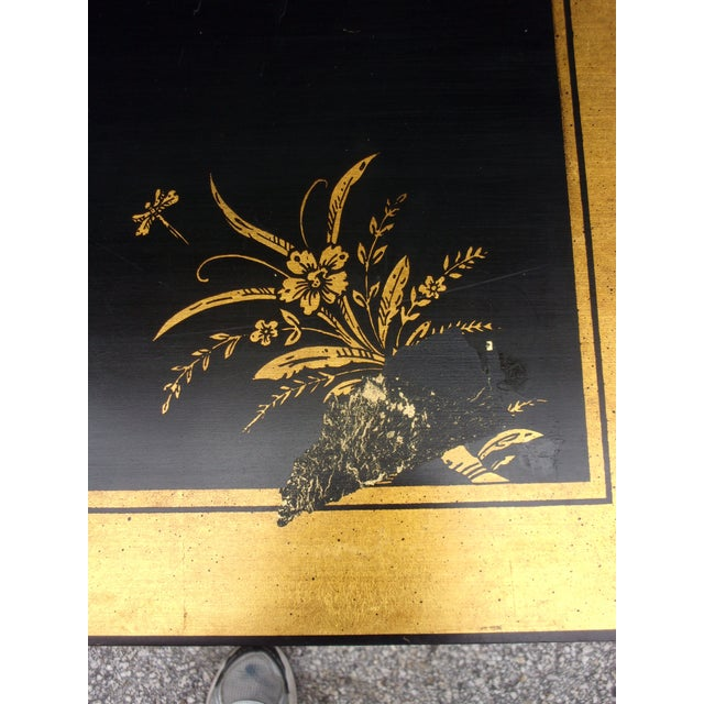 Vintage Asian Style Cabinet With Brass Hardware - Image 9 of 11