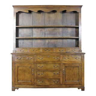 19th Century English Oak Cabinet
