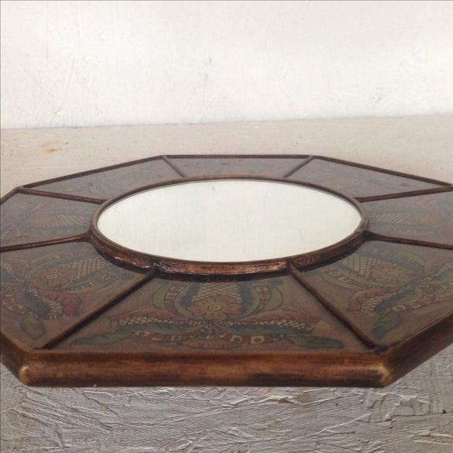 Ocatgonal Peruvian Mirror - Image 4 of 4