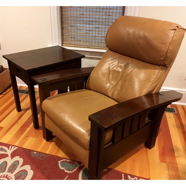 Stickley Mission Recliner Chair - Image 3 of 6