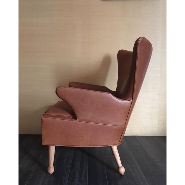 Image of Sabin Mulholland Wingback Chair