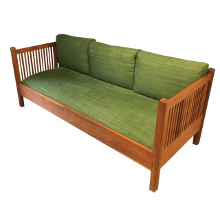 Stickley Spindle Wooden Settee