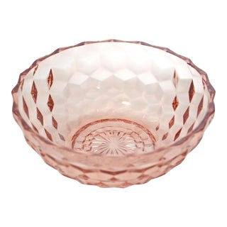 Pink Honeycomb Bowl