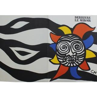 "Alexander Calder ""Derriere Le Miroir No.156"" Lithograph Art Book"