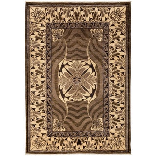 """Contemporary Hand Knotted Area Rug - 6' X 8'6"""""""