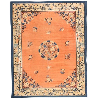 Antique 19th Century Chinese Carpet