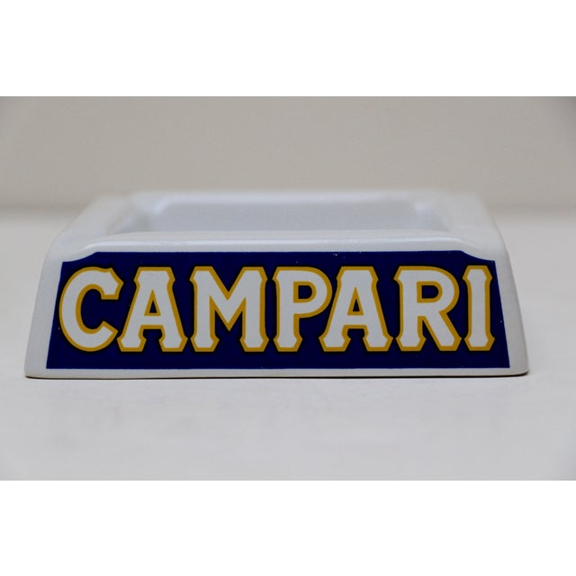 Italian Porcelain Campari Ashtray - Image 5 of 7