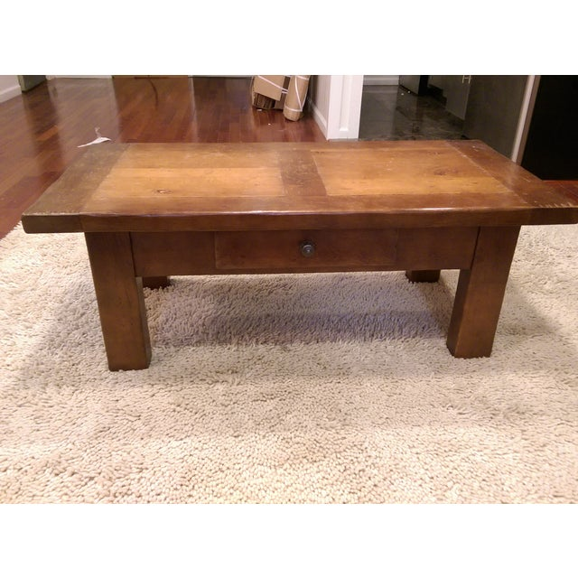 ABC Carpet & Home Solid Wood Coffee Table - Image 4 of 7