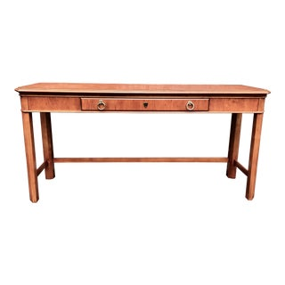 Drexel Georgian Style Fruitwood Console