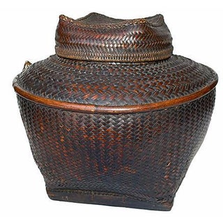 Antique Filipino Ifugao Storage Basket