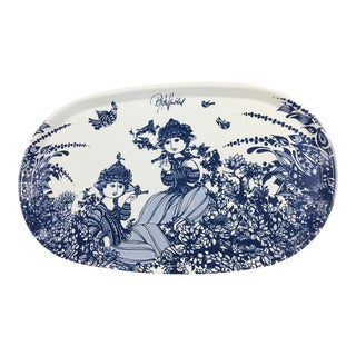 Bjorn Wiinblad Serving Platter