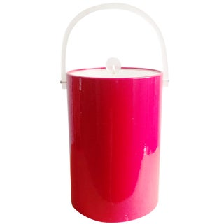 Georges Briard USA Red Ice Bucket