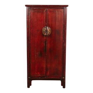 18th Century Ming Chinese Two Door Cabinet