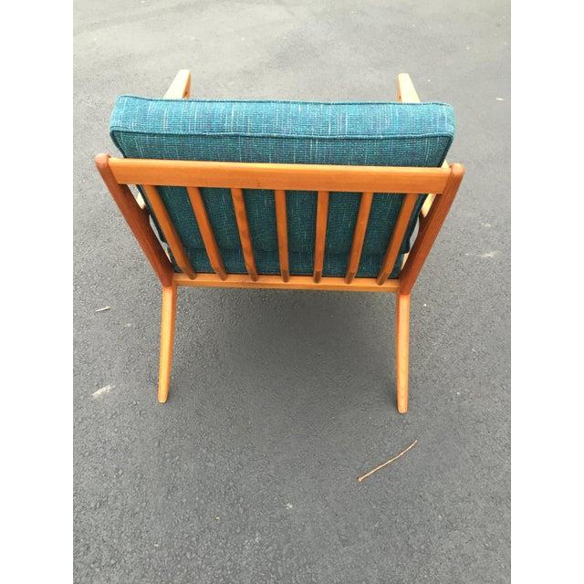Teak poul jensen selig z chair new upholstery chairish - Selig z chair for sale ...