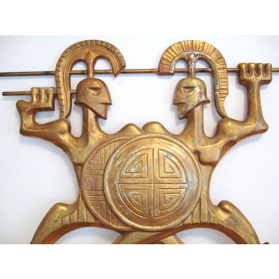 Frederick Weinberg Wall Sculpture - Image 3 of 6
